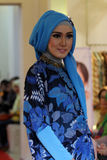 Fashionable hijab Stock Photography