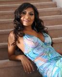 Fashionable Hispanic woman Stock Photography