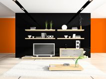 Fashionable home interior Royalty Free Stock Image