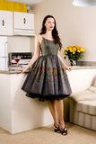 Fashionable Housewife Royalty Free Stock Photos