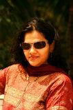 Fashionable Indian woman Royalty Free Stock Image