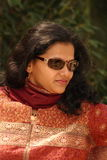Fashionable Indian woman Stock Photo