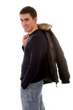 Fashionable jacket Stock Images