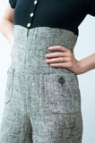 Fashionable jumpsuit Stock Photography