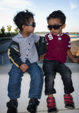 Fashionable Kids Royalty Free Stock Photo