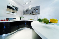 Fashionable kitchen Royalty Free Stock Photo