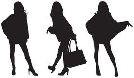 Fashionable ladies Stock Image