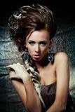 Fashionable lady Royalty Free Stock Image
