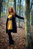 Fashionable lady Stock Images