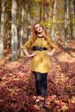 Fashionable lady Royalty Free Stock Photography