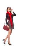 Fashionable lady Stock Photography