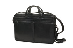 Fashionable leather briefcase Stock Image