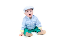 Fashionable little baby Royalty Free Stock Photography