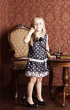 Fashionable little girl Royalty Free Stock Photography