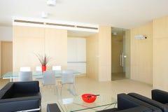 Fashionable living room Stock Image