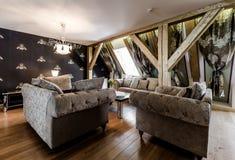 Fashionable living room Royalty Free Stock Photo