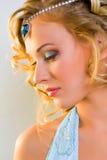 Fashionable make-up Stock Images
