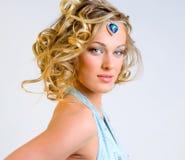 Fashionable make-up Stock Photo
