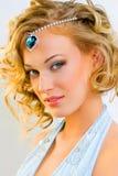 Fashionable make-up Stock Photography