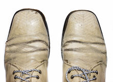 Fashionable male brogue shoes. Stock Images