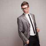 Fashionable male mode Stock Images