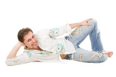 Fashionable man Royalty Free Stock Image