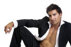 Fashionable man Stock Image