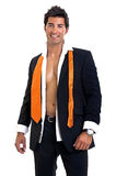 Fashionable man Stock Images