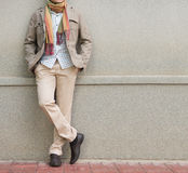 Fashionable man Royalty Free Stock Images