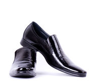 Fashionable man's shoes Royalty Free Stock Photography