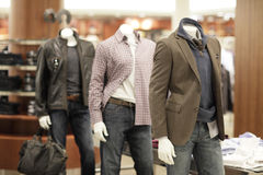 Fashionable mannequins Stock Image