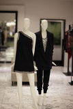 Fashionable mannequins at the mall Stock Photos