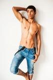 Fashionable masculinity. Royalty Free Stock Photography