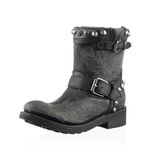 Fashionable men winter boot Stock Photos