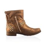 Fashionable men winter boot Stock Photo
