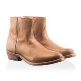 Fashionable men winter boot Royalty Free Stock Image