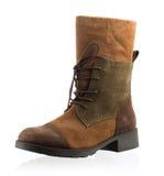 Fashionable men winter boot. Modern fashionable men winter boot shot in studio Stock Photo