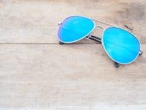 Fashionable mirror sunglasses Royalty Free Stock Photography