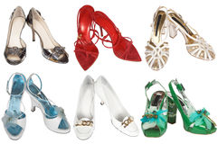 Fashionable modern shoes royalty free stock image