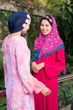 Fashionable muslim girls Royalty Free Stock Photo
