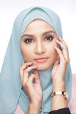 Fashionable muslimah woman Royalty Free Stock Photography