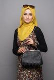 Fashionable muslimah woman Royalty Free Stock Photo