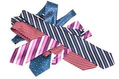 Fashionable neckties Stock Image