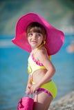 Fashionable On The Beach Stock Photos
