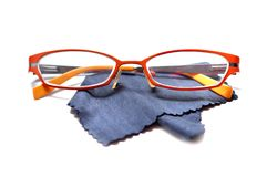 Eyeglasses glasses isolated on white Royalty Free Stock Photography