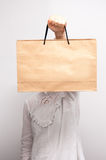 Fashionable paper bag Stock Photography