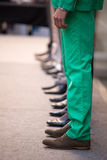 Fashionable Parade. Preparations before the fashionable parade Stock Photography