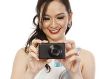 Fashionable Photographer Stock Images