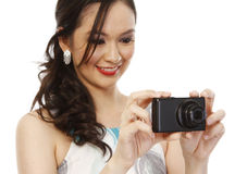 Fashionable Photographer Stock Photos