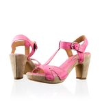 Fashionable pink shoes Stock Image